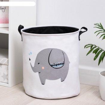 Корзина универсальная «слонёнок», 35x40 см