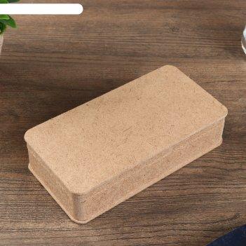 Шкатулка для декора из мдф 17х8,5х4 см