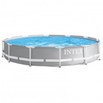 Бассейн каркасный prism frame, 366 х 76 см, фильтр-насос, 26712np intex