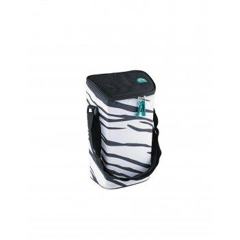 Изотермическая сумка-холодильник igloo wine tote white-zebra