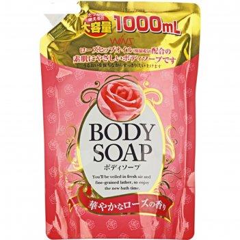 Гель для душа wins rose увлажняющий с экстрактом розы, 1 л