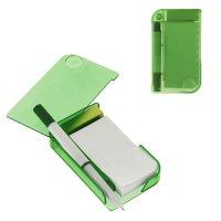 Блокнот с ручкой линейка лупа 11 х 6,5см зеленый