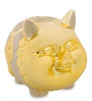 Gp-08 копилка золотая свинка - к богатству