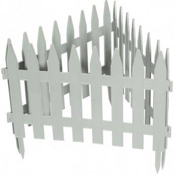 Забор декоративный рейка 28 x 300 см, белый россия palisad