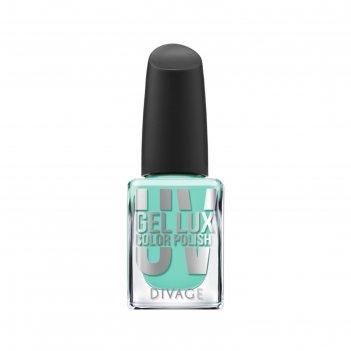 Гелевый лак для ногтей divage uv gel lux, тон №18