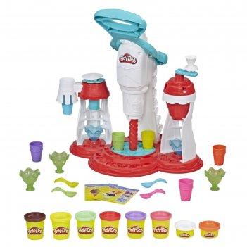 Игровой набор для лепки play-doh «мир мороженого»