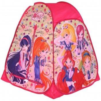 Палатка игровая винкс 81х90х81см, в сумке gfa-wx01-r