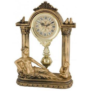 Скульптурные часы из полимерных смол восток 8319-1
