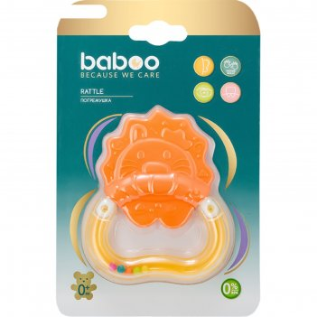 Погремушка baboo «лев», 0 мес+