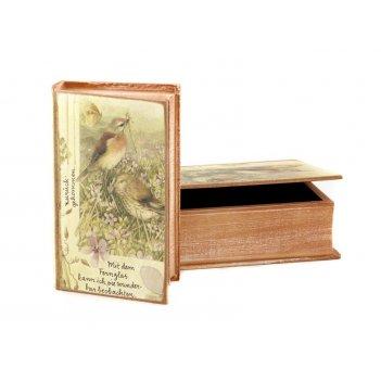 Комплект шкатулок для книг из 2 шт. 27*18*7/21*13*...