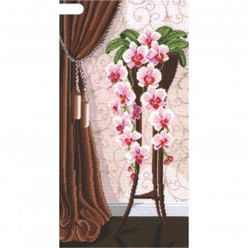 Набор для вышивания ваза с орхидеями