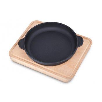 Сковорода порционная 14см на подставке тм brizoll