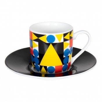 Koenitz кофейная пара эспрессо баухаус треугольник