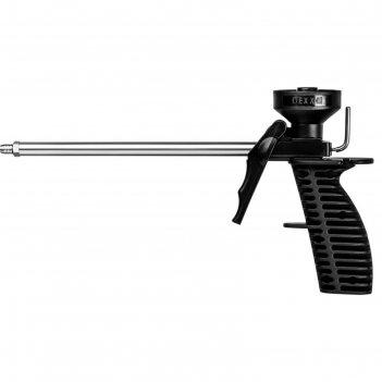 Пистолет для монтажной пены dexx mix 06869_z01, пластиковый  корпус