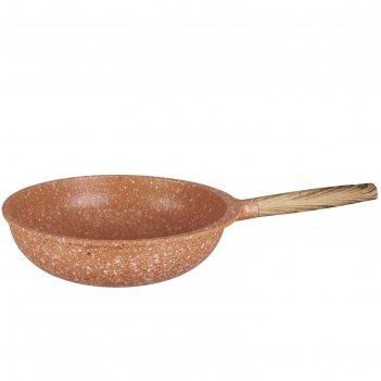 Сковорода-вок 30 см, гранитное антипригарное покрытие