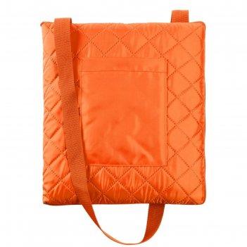 Плед для пикника soft   dry, размер 115x145 см, цвет тёмно-оранжевый
