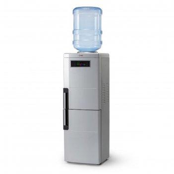 Кулер для воды ael lc-ael-188 bd, компрессорный, холодильник 12 л, дисплей