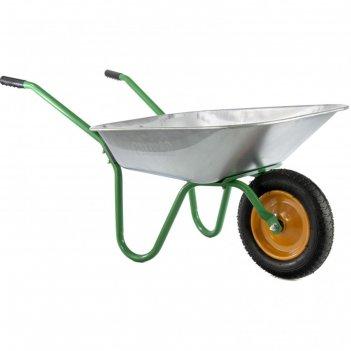 Тачка садовая, грузоподъемность 100 кг, объем 65 л