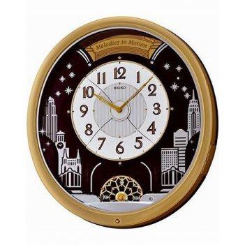 Настенные часы seiko qxm285g