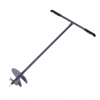 Бур шнековый, d=20 см, ручка 1 метр