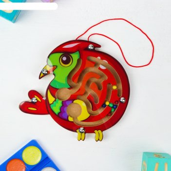 Лабиринт логический попугай
