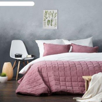 Комплект «софт»: покрывало 250 x 270 см, наволочка 40 x 60 см-2 шт, цвет р
