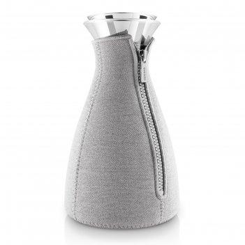 Кофейник cafe solo, в неопреновом текстурном чехле, 1 л, светло-серый