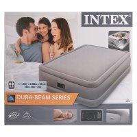 Кровать надувная с встр насосом dura - beam series 152х203х51 см 64468 от