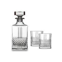 Набор для виски: штоф, объем: 750 мл и 2 стакана, объем: 270 мл, материал: