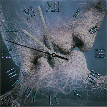 Картина сваровски - часы время любви