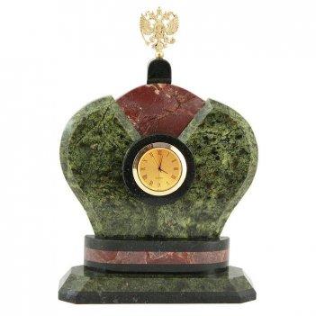 Часы корона змеевик