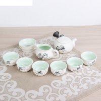Набор для чайной церемонии 9 предметов путь даоса: чайник 180 мл, чашка 70