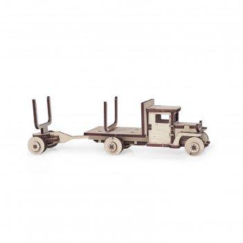 Деревянный конструктор «грузовик зис-5в с роспуском»