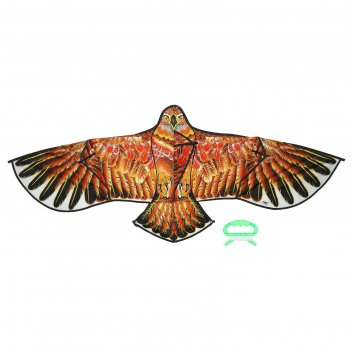Воздушный змей ястреб с леской, цвета микс