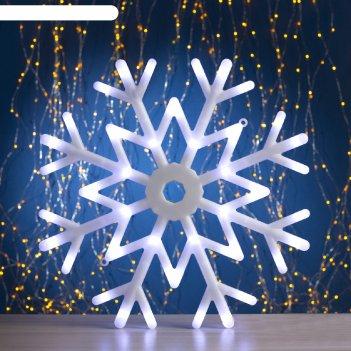 Фигура звезда d-40 см, , 30 led, 220v, контрол. 8р. белый