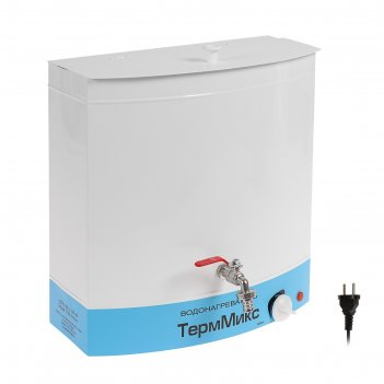Бак настенный терммикс, с электроводонагревателем, 1250 вт, 20 л, белый