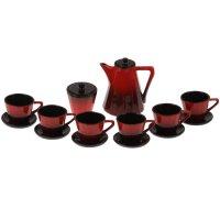 Сервиз кофейный ностальгия  (кофейник 700 мл, сахар.200 мл, чайная пара 20