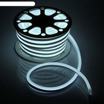 Гибкий неон 15 х 25 мм, 25 метров, led-120-smd2835, 220 v, белый