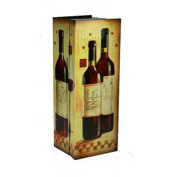 Шкатулка сундучок под бутылку 35*13*10см
