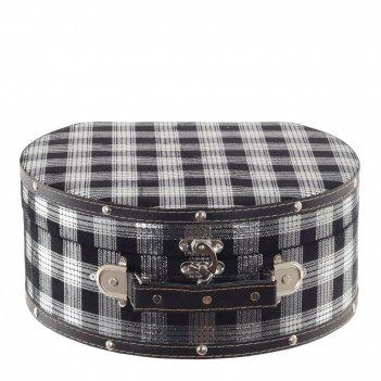 Шкатулка чемодан, l30 w27 h13 см