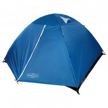 Палатка туристическая polar 260х240х130 см, 4-местная, цвет синий