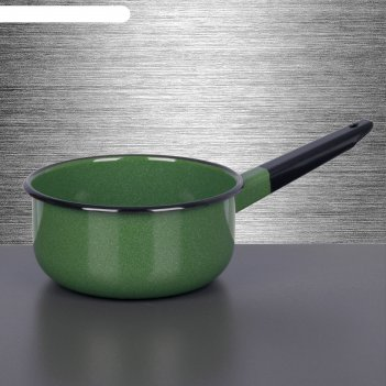 Ковш 1,5 л, цвет зеленый рябчик