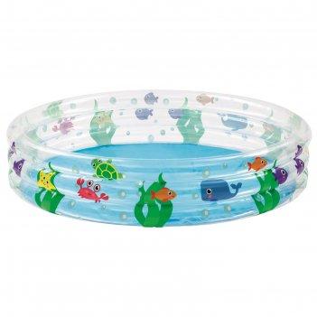 Бассейн надувной «подводный мир», 152 х 30 см, 51004 bestway