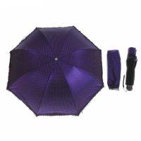 Зонт механический, r=50см, цвет сиреневый