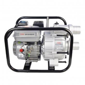 Мотопомпа ставр мпб-80/6620гв, для грязной воды, 6620 вт/9 л.с., d=80 мм,