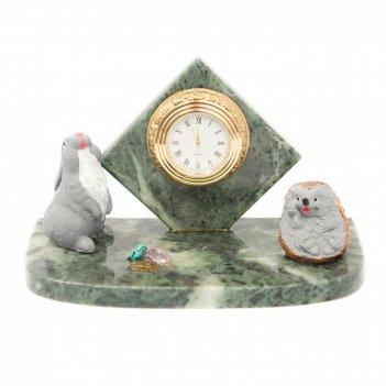 Часы заяц и ежик