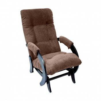 Кресло-качалка глайдер ми модель 68, венге, ткань verona brown