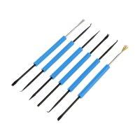 Набор инструмента для пайки zhongdi zd-151, металлическая кисть, скребок,