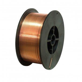 Проволока сварочная кратон 1 19 02 008, стальная, омедненная, 1 мм, 5 кг