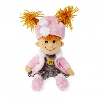 Мягкая кукла 35 см озвуч. 4 стиха и песни а.барто c7295